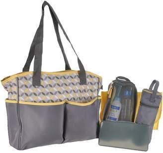 Baby Boom 5-Piece Tote Diaper Bag Set