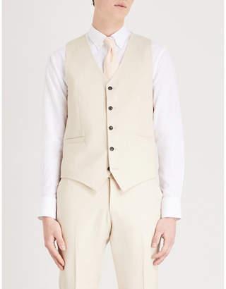 Tiger of Sweden Litt wool linen and silk-blend waistcoat