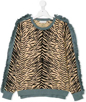 Stella McCartney Rita tiger print top