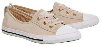 Converse supplied by Office **Converse CTAS Ballet Lace Trainers