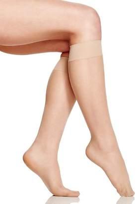 Hue Sheer Knee-High Socks, Set of 2