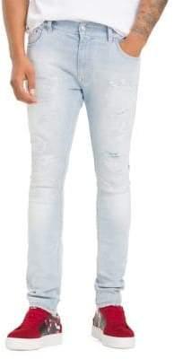 ... Tommy Hilfiger X Lewis Hamilton Distressed Skinny Jeans fb52062bbe