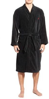 Men's Polo Ralph Lauren Cotton Fleece Robe $90 thestylecure.com