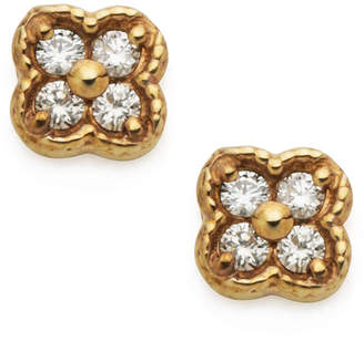 Classic Jewels K10YG ダイヤモンド(0.08ct) ピアス イエローゴールド