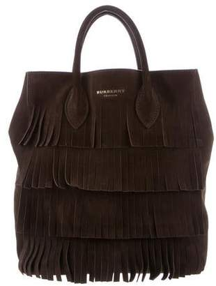 445cb5fae5fc Burberry Fringe Bag - ShopStyle