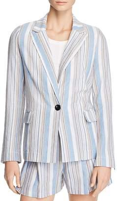 Aqua Striped Blazer - 100% Exclusive