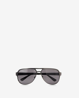 Express Two Tone Aviator Sunglasses
