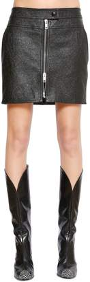 Givenchy Leather Mini Skirt