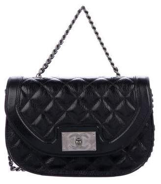 Chanel Quilted Messenger Bag