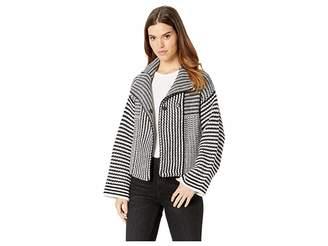 Splendid Onyx Sweater Jacket