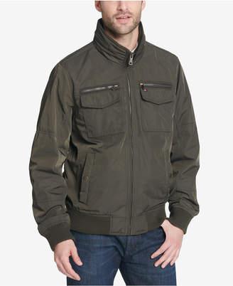 Tommy Hilfiger Men's Big & Tall Four-Pocket Filled Performance Jacket