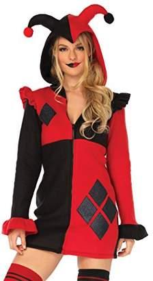 Leg Avenue Womens Cozy Harlequin Jester Halloween Costume