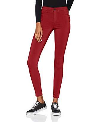 Pieces Women's Pcskin Wear Mw Jeggings/noos Skinny Jeans,(Manufacturer Size: Large)