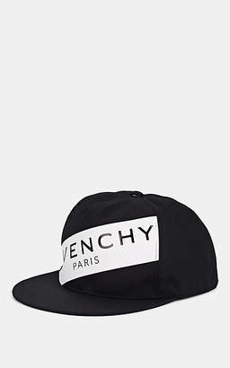 Givenchy Men's Logo Canvas Baseball Cap - Wht.&blk.