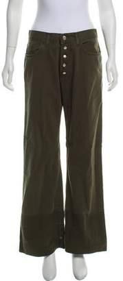 Jean Paul Gaultier Mid-Rise Wide-Leg Jeans w/ Tags