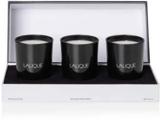 Lalique Asian Secrets Scented Candles, Set of 3