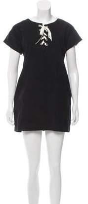 Roche St. Corduroy Mini Dress