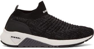 Diesel Black S-KB ATHL Sock Sneakers