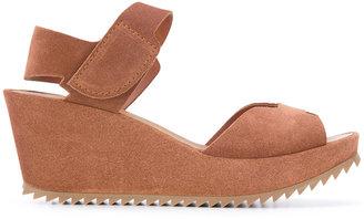 Pedro Garcia open toe wedge sandals $296.13 thestylecure.com