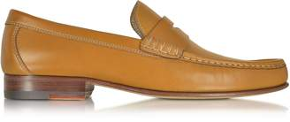 a. testoni A.Testoni Cuoio Leather Moccasin Shoe