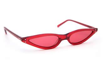 George Keburia Scarlet Red Sunglasses