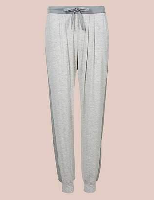 Marks and Spencer Lace Trim Cuffed Hem Pyjama Bottoms