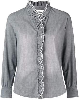 Etoile Isabel Marant frilled embellished shirt
