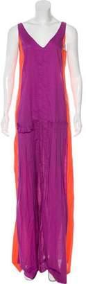 Marni Belted Maxi Dress