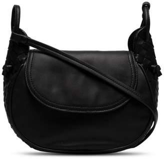 Bottega Veneta black Leather Cross body Bag