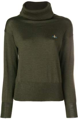 Vivienne Westwood embroidered logo jumper
