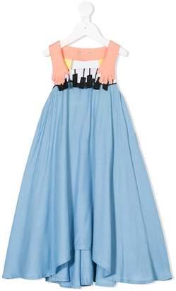 Raspberry Plum Piano dress