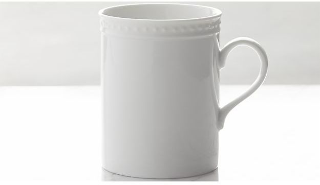 Crate & Barrel Staccato Mug