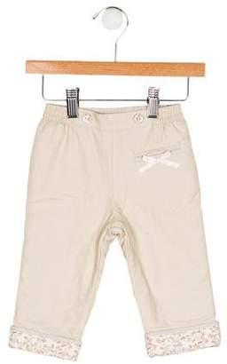 Christian Dior Girls' Corduroy Printed Pants