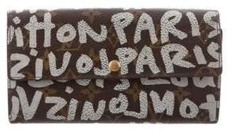 Louis Vuitton Graffiti Sarah Wallet