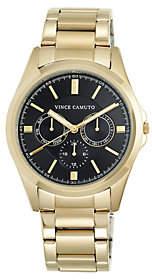 Vince Camuto Men's Multi-Function Goldtone Bracelet Watch