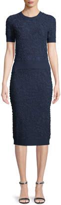Michael Kors Soutache Pull-On Pencil Skirt