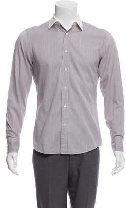 Gucci Striped Button-Up Shirt