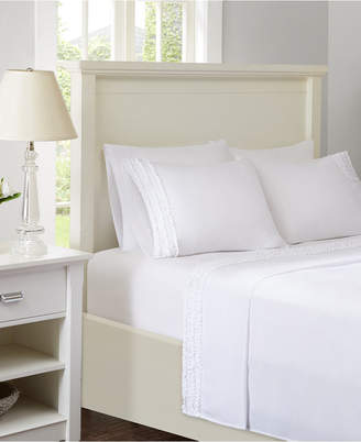 Jla Home Intelligent Design Ruffled 4-pc Twin Sheet Set Bedding