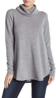 GRIFFEN CASHMERE Cowl Neck Slouchy Cashmere Pullover