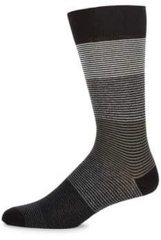 Saks Fifth Avenue Jaspe Tonal Socks
