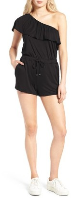 Women's Ella Moss Bella One-Shoulder Romper $145 thestylecure.com