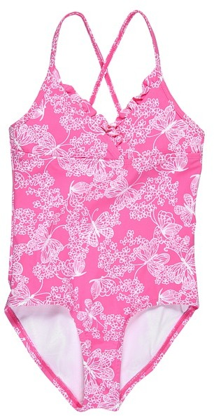 Lilly Pulitzer Reef Swimsuit (Toddler/Little Kids/Big Kids) (Dreamy) - Apparel