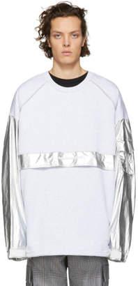 Juun.J Silver Thealteredtech Sweatshirt
