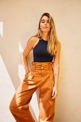 Flow Away Cropped Wide Leg Pants