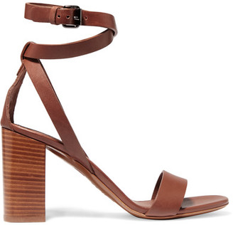 Vince - Farley Leather Sandals - Tan $350 thestylecure.com