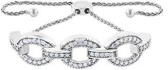 Rob-ert Robert Manse Designs Romanse Silver Cz Bracelet