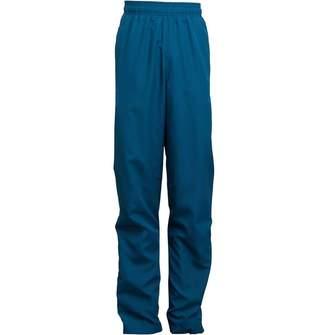 adidas Junior Boys RMCF Real Madrid UCL Woven Track Pants Petrol Night/Vivid Teal