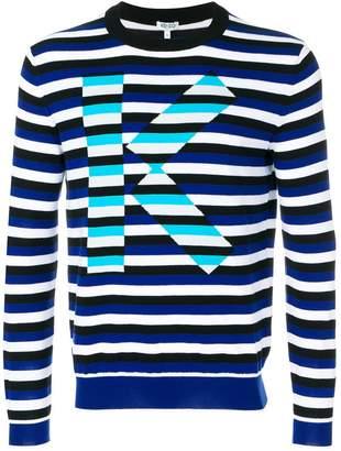 Kenzo striped K jumper