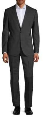 HUGO BOSS Standard-Fit Wool Blend Suit