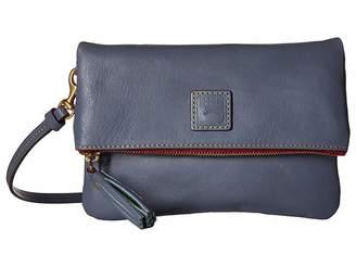 Dooney & Bourke Florentine Classic Fold-Over Zip Crossbody